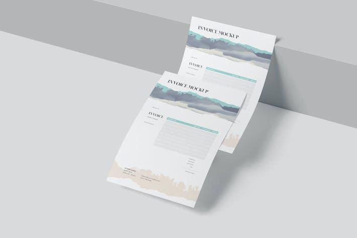 A5 Paper Mockups