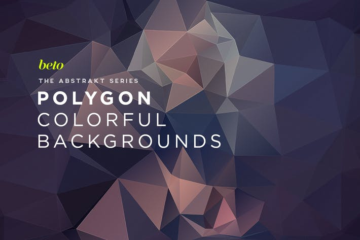 Thumbnail for Polygon Abstract Backgrounds V10