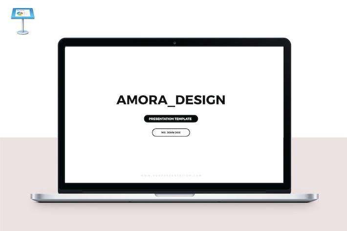 Thumbnail for AMORA - Multipurpose Keynote Template V53