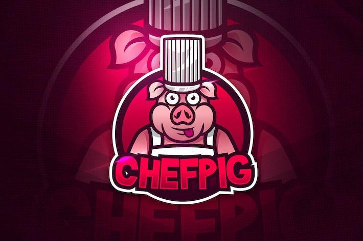 Thumbnail for Chefpig - Mascot & Esport Logo