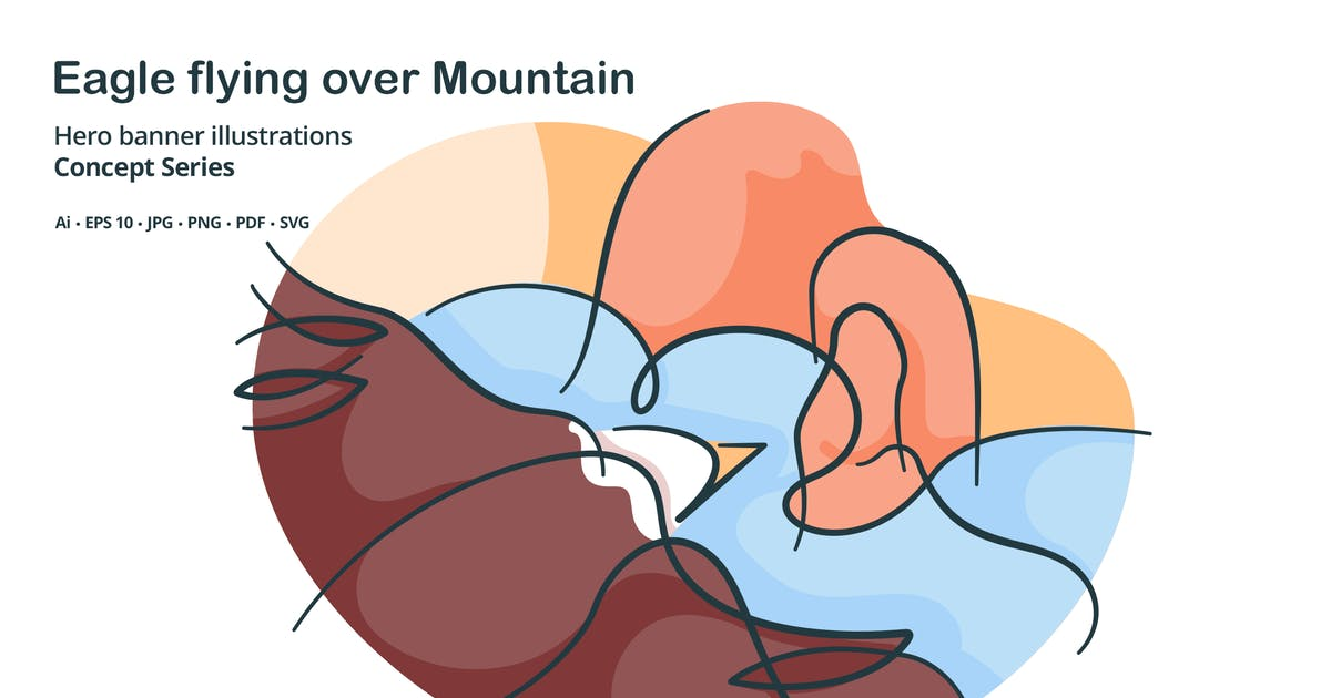Download Eagle Wildlife Animal Vector Illustration by roundicons