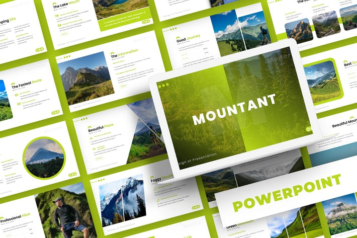 Thumbnail for Mountant - Powerpoint Template