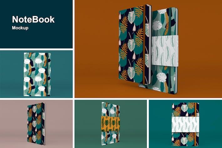 Thumbnail for Mockup Notebook