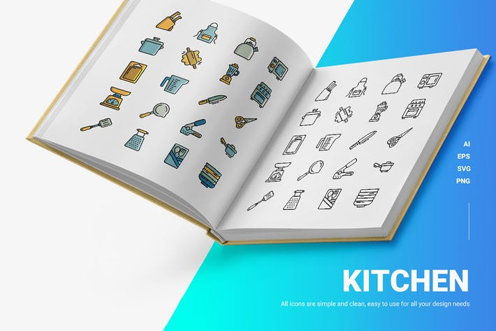 Kitchen - Icons