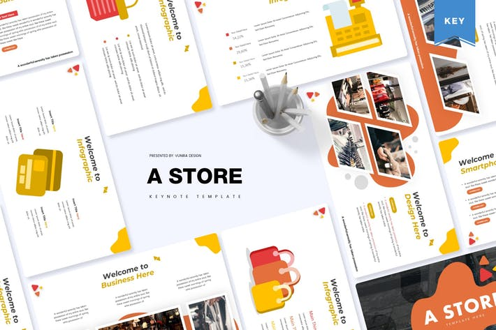 Thumbnail for A Store | Keynote Template