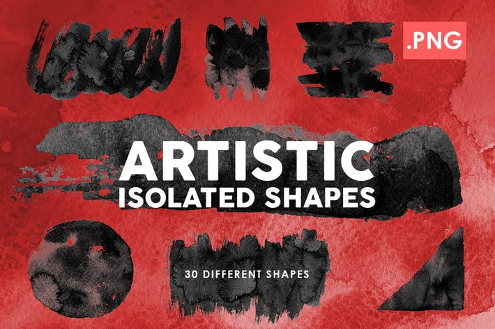Thumbnail for Artistic Isolated Shapes | 02