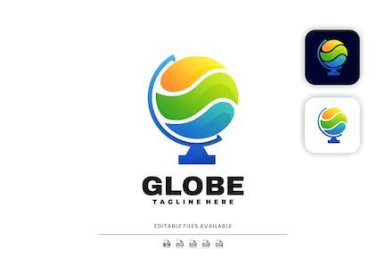 Globe Colorful Logo