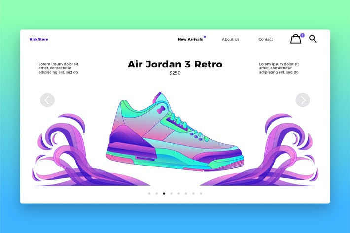Thumbnail for Fashion Shoes - Banner & Landing Page