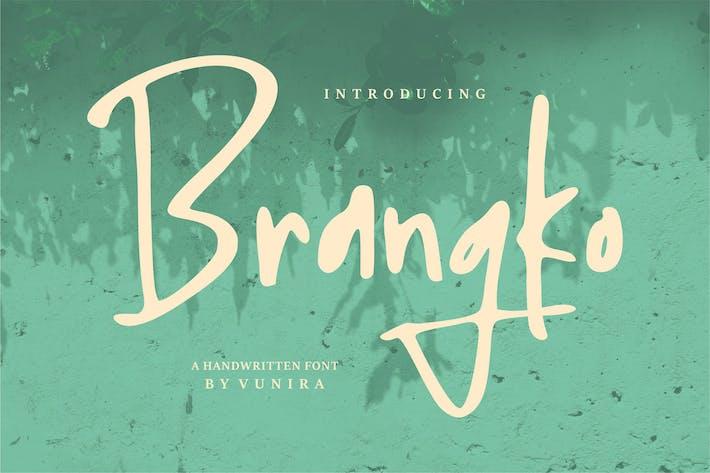 Thumbnail for Brangko   Una fuente manuscrita