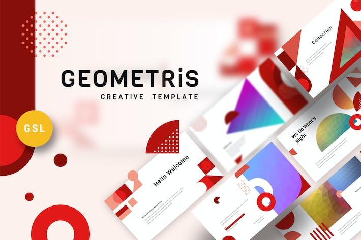 Geometris - Creative Google Slides Template