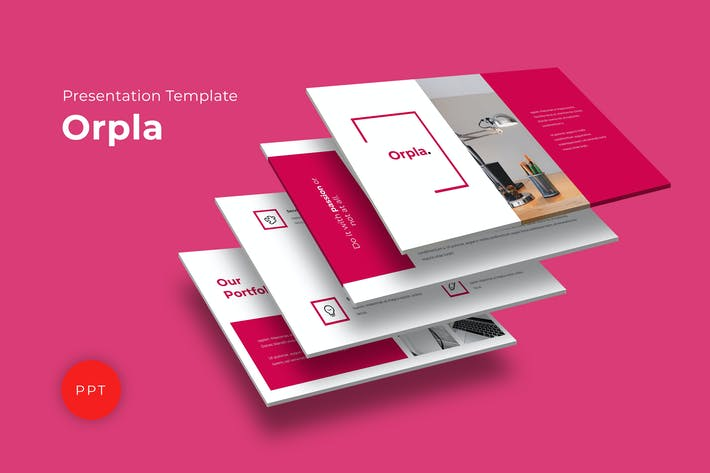 Thumbnail for Orpla Powerpoint Template