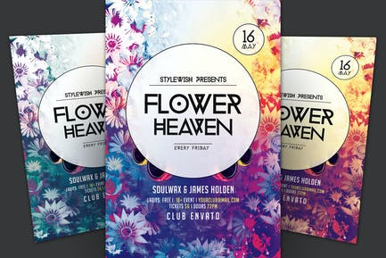 Flower Heaven Flyer