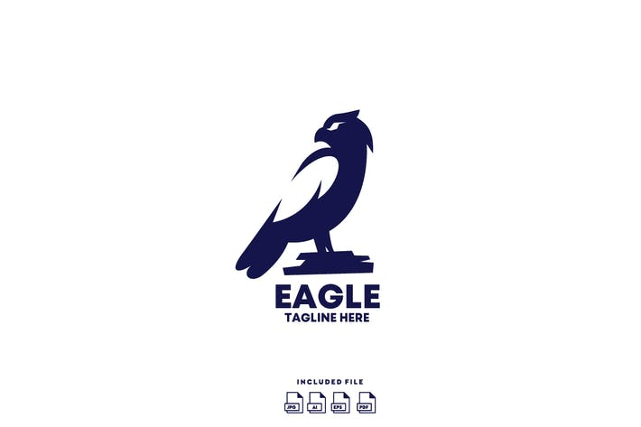 Thumbnail for Logo Aigle Design Vecteur