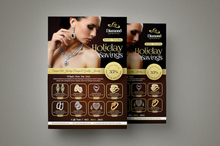 Thumbnail for Jewelry Store Flyer Template
