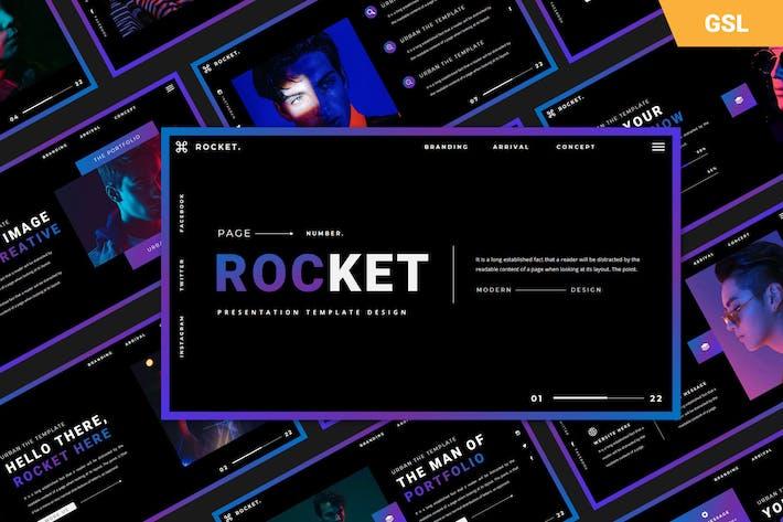 Ракетные слайды Google