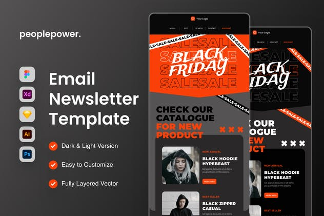 Black Friday Email Newsletter Template