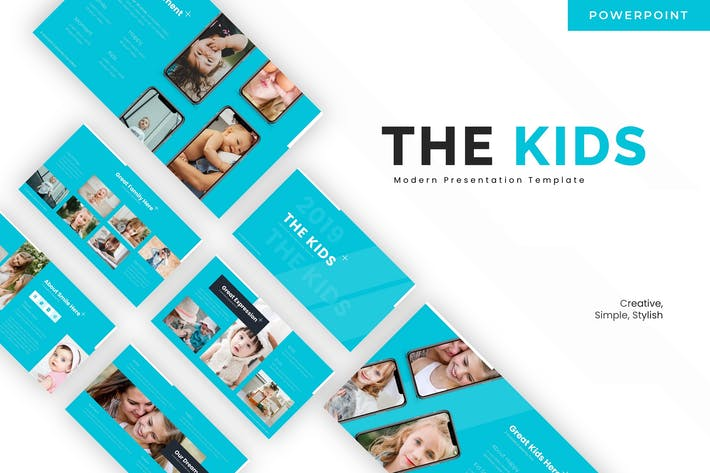 The Kids - Powerpoint Template
