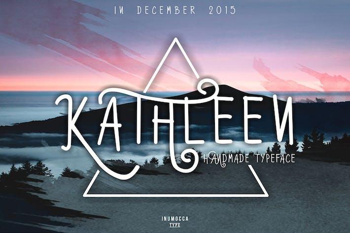 Thumbnail for Kathleen Typeface