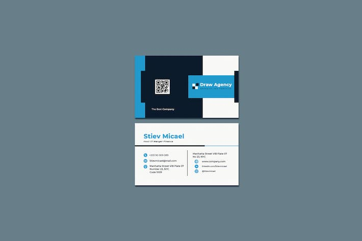 Draw Agency Business Card