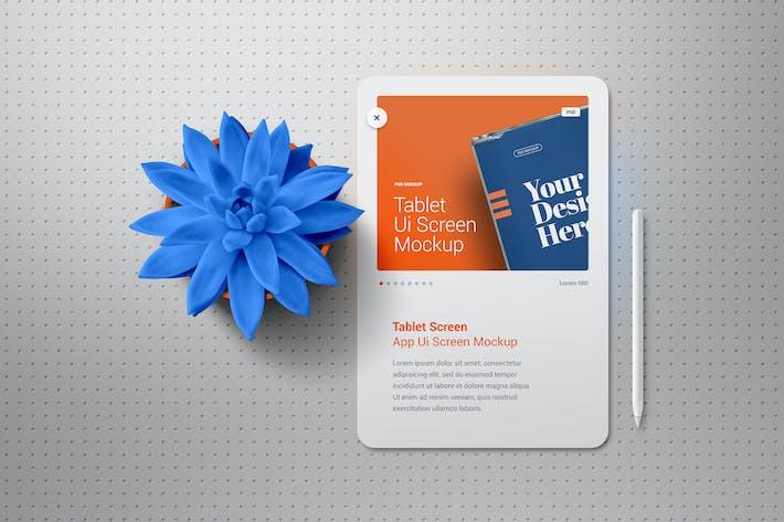 Thumbnail for Tablet-Präsentation Showcase Mockup