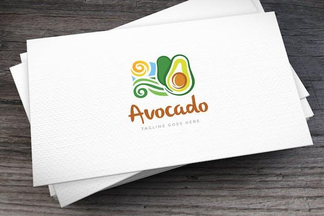 Avocado Logo Template