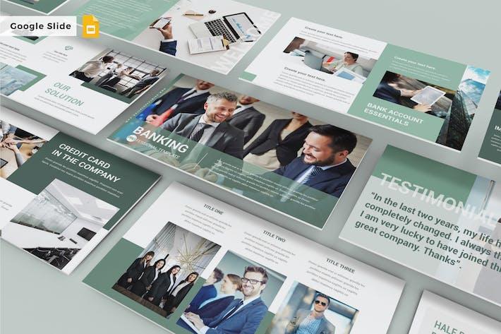 Thumbnail for BANKING - Google Slide Template V243