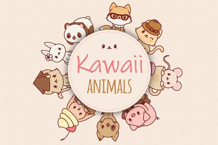 Cover Image For Kawaii Animals