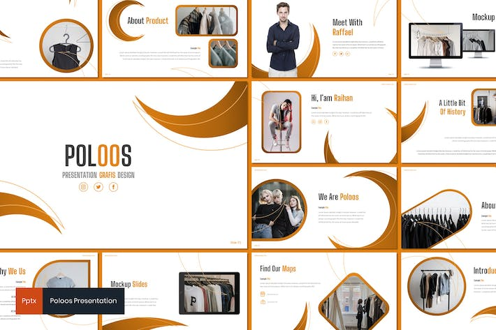 Thumbnail for Poloos - Fashion Powerpoint Template