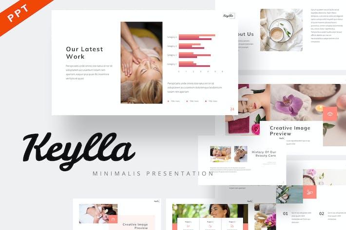 Thumbnail for Keylla - Минималистский Шаблон Powerpoint