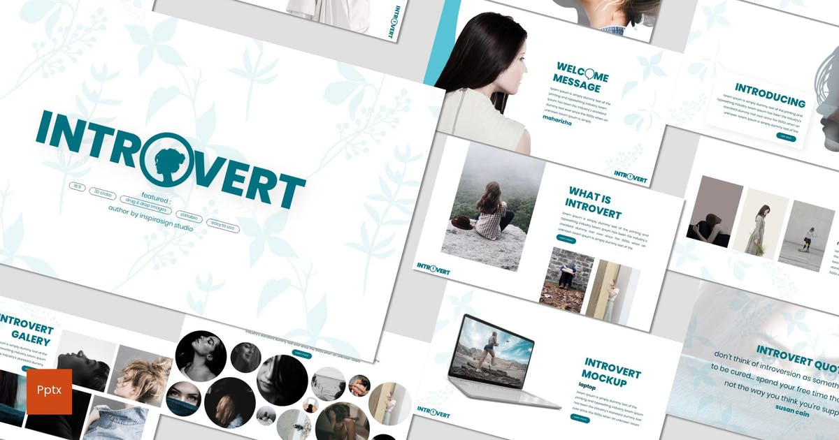 Download Introvert - Powerpoint Template by inspirasign