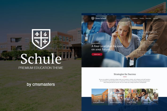Thumbnail for Schule - School & Education Theme