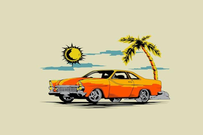 Thumbnail for Coche vintage bajo el sol
