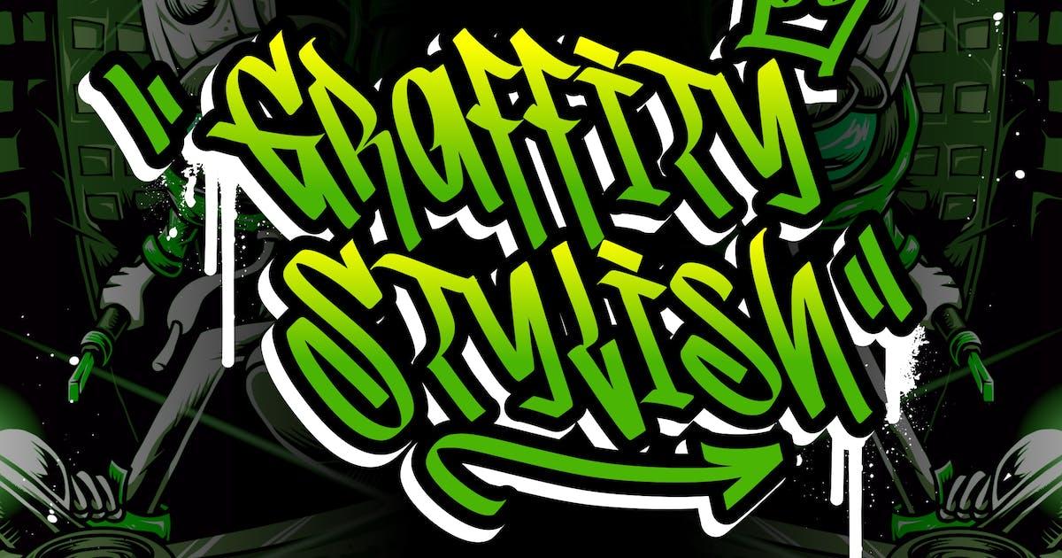 Download Graffity Stylish Graffiti Street Style by RahardiCreative