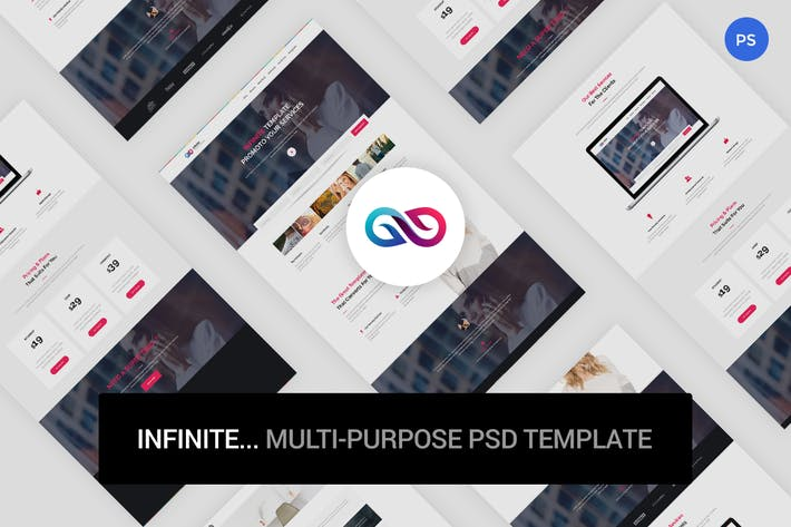 Thumbnail for Infinite - Multi-Purpose PSD Template