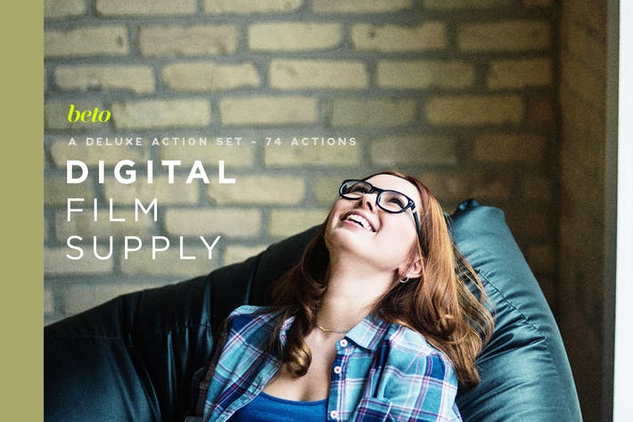Thumbnail for Digital Film Supply Action Bundle