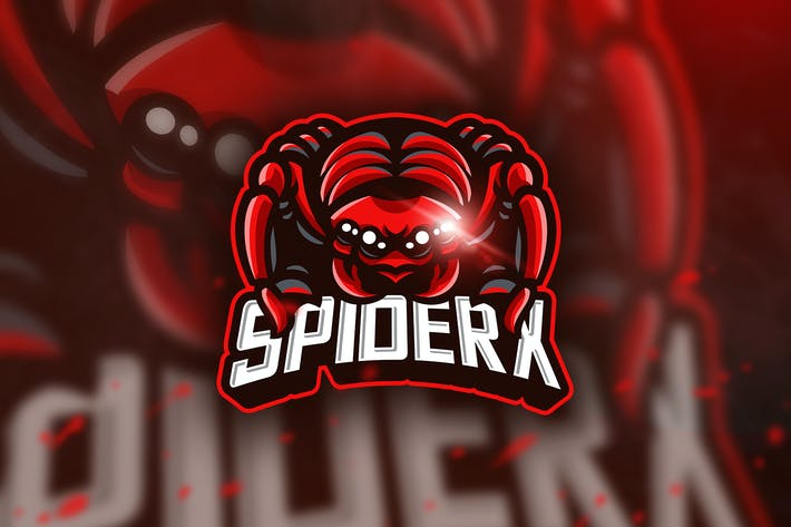Thumbnail for Spiderx - Mascot & Esport Logo