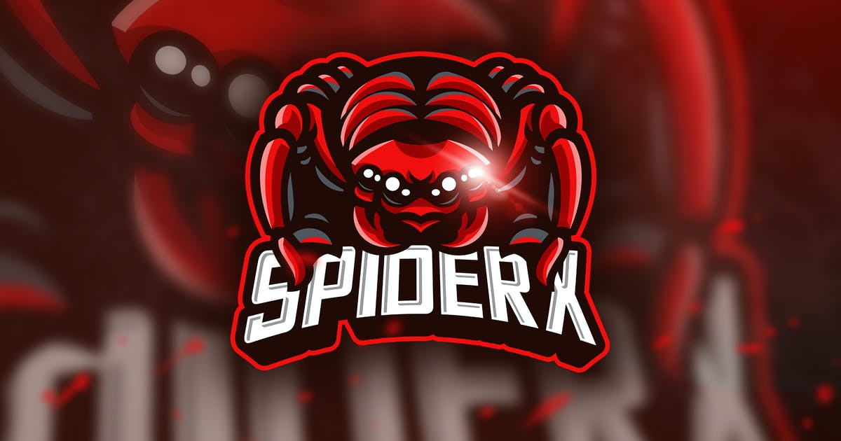Download Spiderx - Mascot & Esport Logo by aqrstudio