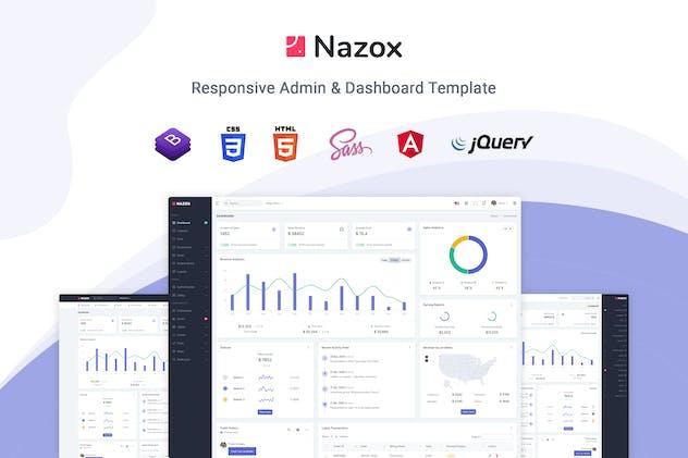 Nazox - Angular 10 Admin & Dashboard Template