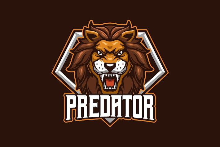 Thumbnail for Predator E-sports Logo Template