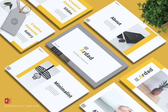 Thumbnail for ARDAD - Creative Powerpoint Template