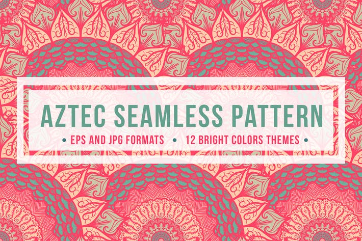 Thumbnail for Aztec Seamless Pattern