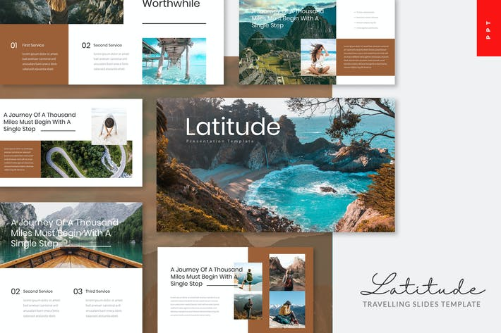 Thumbnail for Latitude - Travelling Powerpoint Template