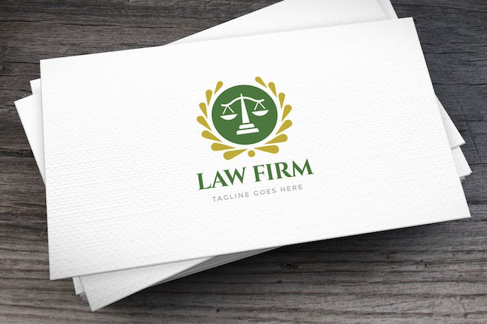 Thumbnail for Law Firm Logo Template