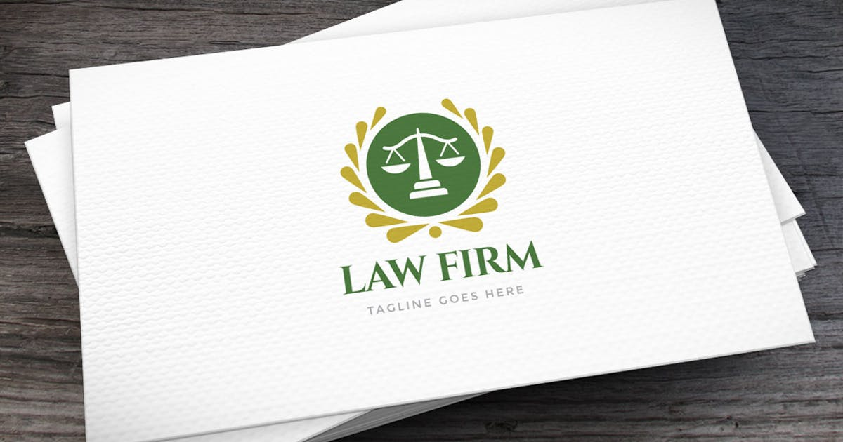 Download Law Firm Logo Template by empativo