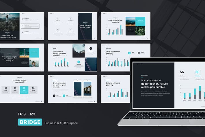 Thumbnail for BRIDGE - Business & Multipurpose Template (KEY)