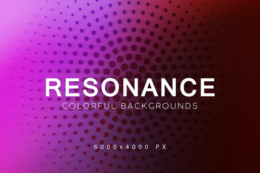 Resonance Tech Backgrounds