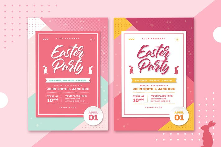 Cover Image For Easter Flyer