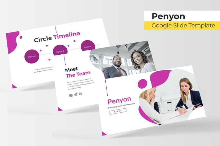 Thumbnail for Penyon - Google Slides Template
