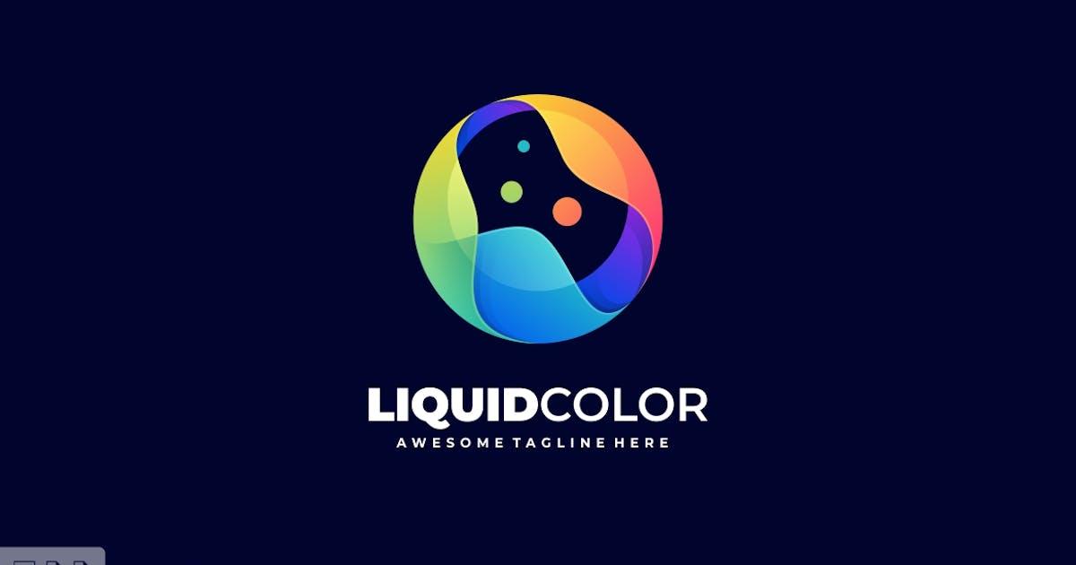 Download Sphere Liquid Color Gradient Logo template by ivan_artnivora