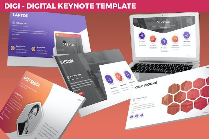Thumbnail for Digi - Digital Keynote Template